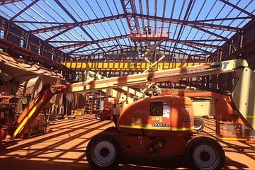 , Cape Lambert structural upgrade