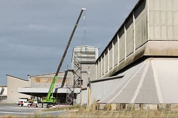 , CSBP (fertilisers) asbestos cladding replacement