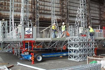 , Fremantle Ports mast climbers